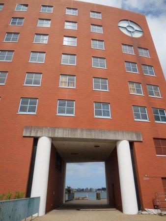 Premier Hotel Mojiko: ホテル外観(町側)