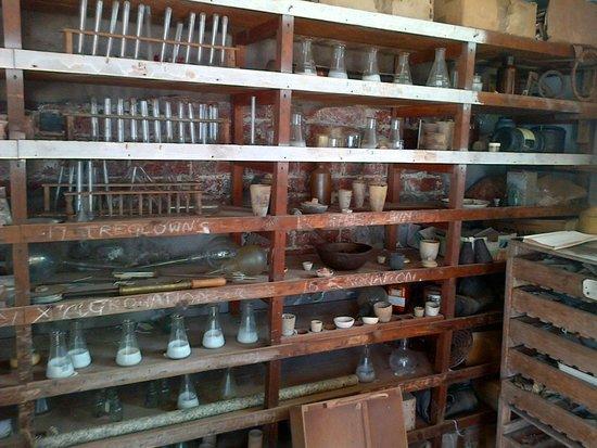 Geevor Tin Mine: Assay Office