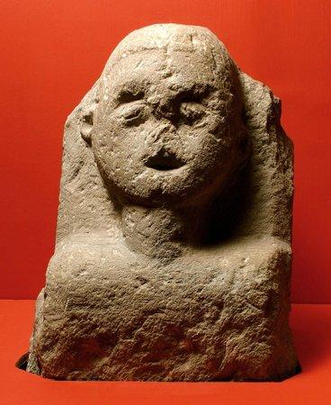 Carmarthenshire County Museum: Roman gravestone