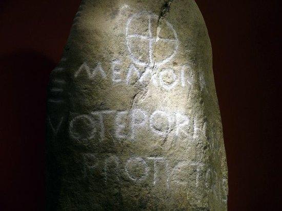 Carmarthenshire County Museum: Sixth century memorial stone