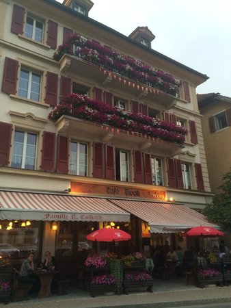 Café Tivoli : Entry to the restaurant