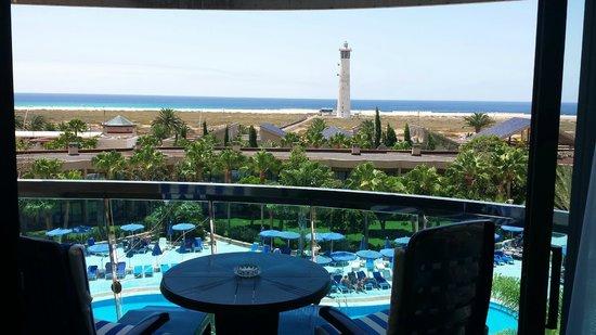 Hotel Faro Jandia & Spa: Vista desde el balcon