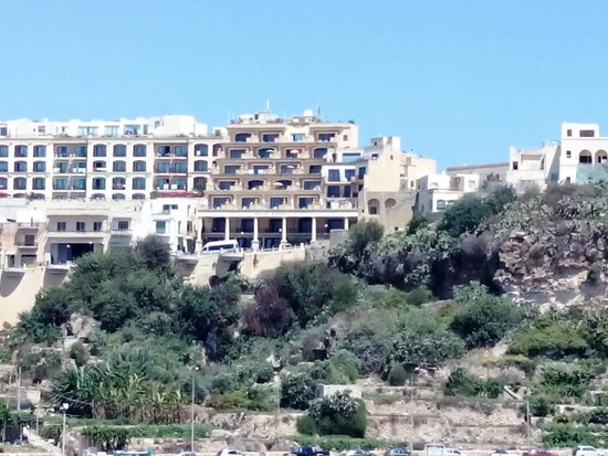 Grand Hotel Gozo : from ship