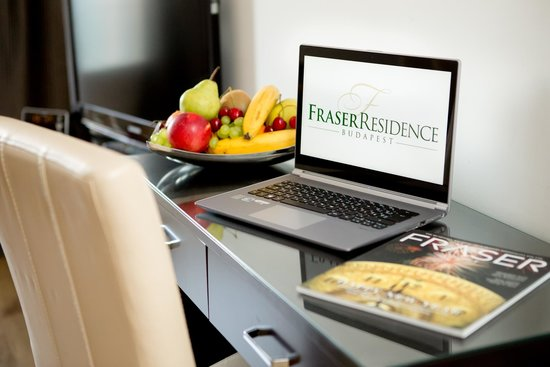 Fraser Residence Budapest: Free Wifo for business or leisure