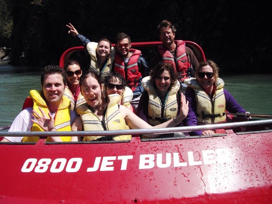 Buller Canyon Jet: From November. An outstanding day.