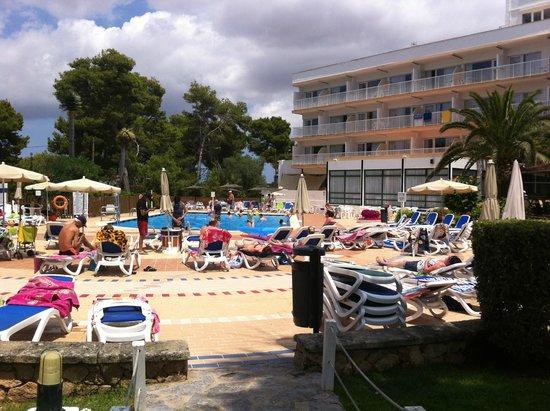 Cala Blanca Sun Hotel: Pool