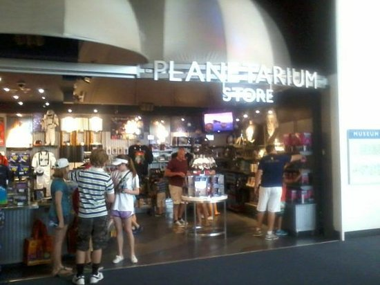 National Air and Space Museum: Planetarium Store