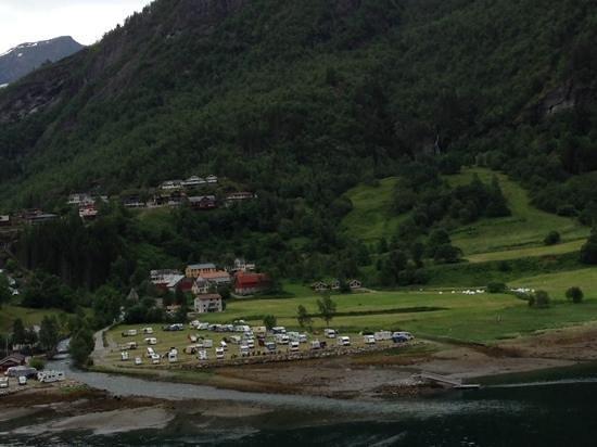 Geiranger Fjord : 町並み