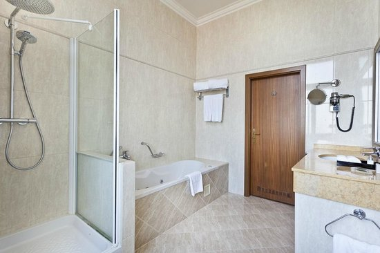 Hotel King David Prague: Junior Suite Bathroom