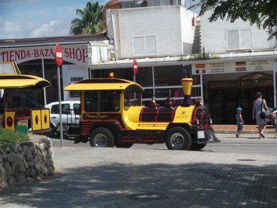 Blau Punta Reina Resort: Petit train qui va à Porto cristo