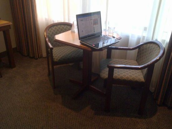 Hotel on St Georges: free wifi and working chairs