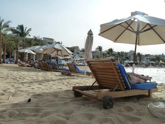 Lido Sharm Hotel: The hotel's private beach