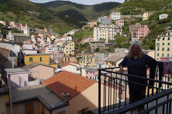 La Baia di Rio : View from Balcony over the town