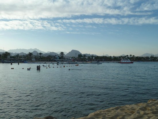 Lido Sharm Hotel: View from the hotel's private beach