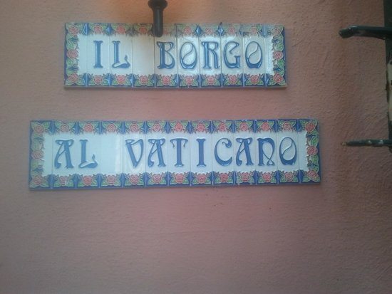 Borgo al Vaticano Bed & Breakfast : 9