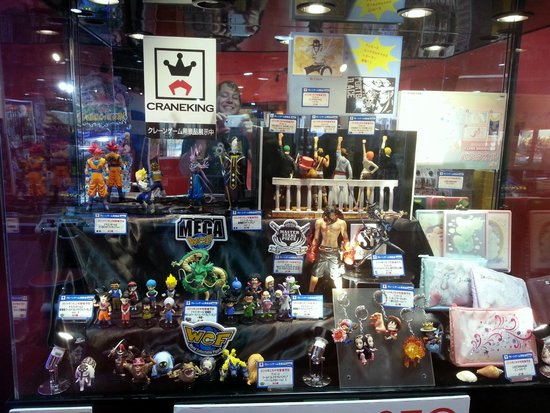 Wow! All those figurines! - Picture of J-WORLD TOKYO, Toshima - TripAdvisor