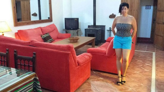 Posada El Tempranillo: Saloncito super romantico