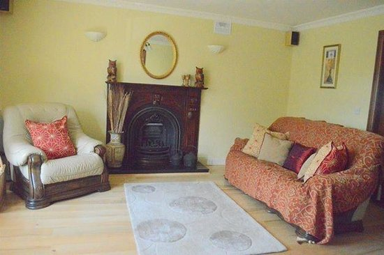 Rockbrook House: Guest sitting room
