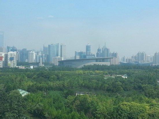 Dorsett Shanghai: Vista hacia el museo de ciencia