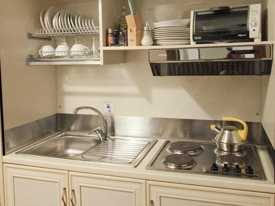 Residence Navonapt: Il cucinotto attrezzato