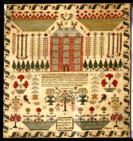 Carmarthenshire County Museum: Sampler