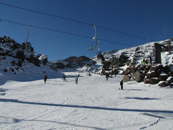 Pipers Ski Lodge : Mt.Ruapehu, Happy Valley