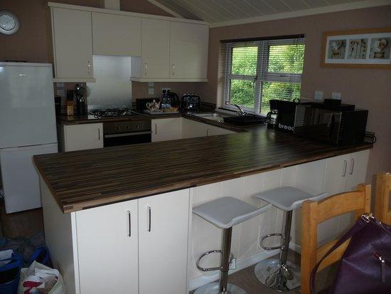 Herons Brook Lodges: Living area