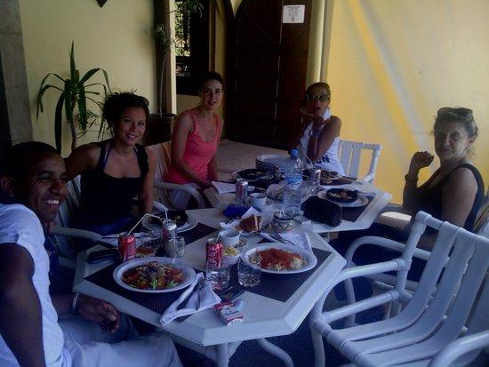 Riad Zahra: Lunch