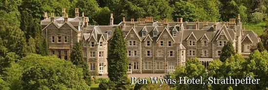 Ben Wyvis Hotel: Gesamtansicht