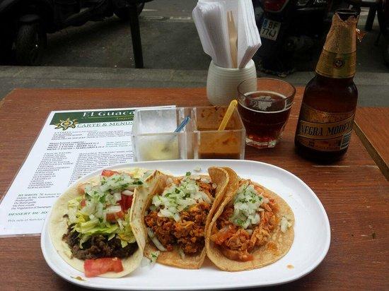 El Guacamole : Excellent.
