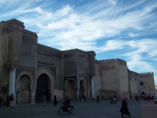 Bab Mansour Gate : Bab Mansour