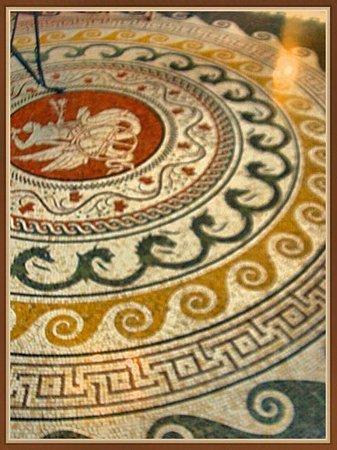 Villa Grecque Kérylos : mosaic floor,Villa Kérylos