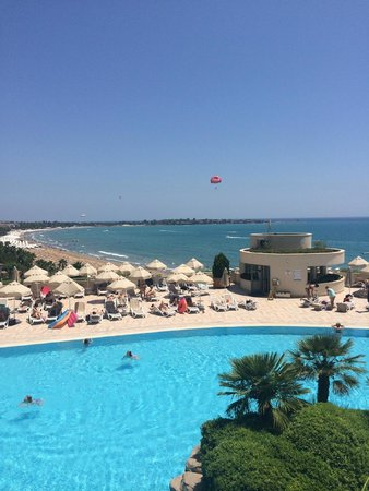 Melas Resort Hotel: view from the main restuarant