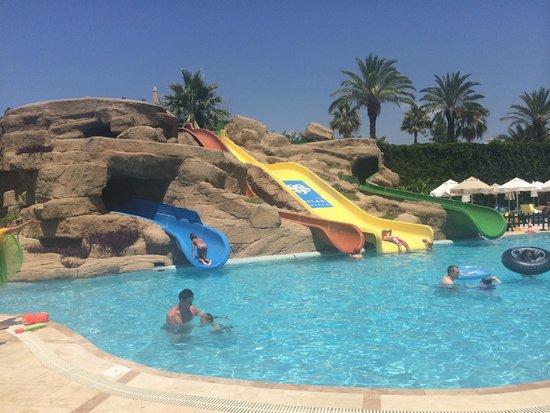Melas Resort Hotel: Aquapark in Melas village