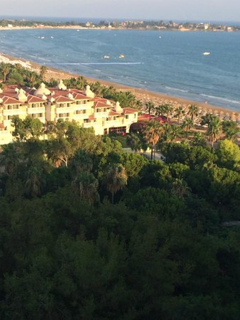 Melas Resort Hotel: side view from 8th floor