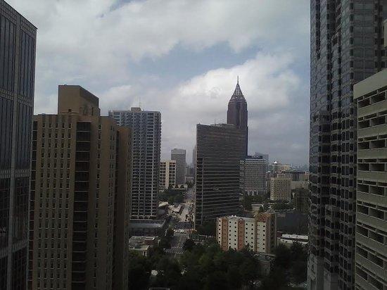 Hyatt Regency Atlanta : View from our room