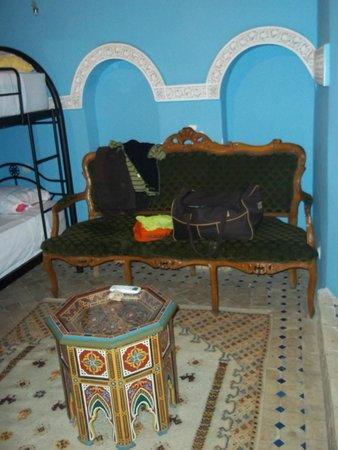 Riad La Bague de Kenza : Room in riad