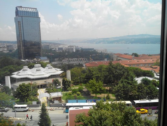 Gezi Hotel Bosphorus: Bosphorus view from the room