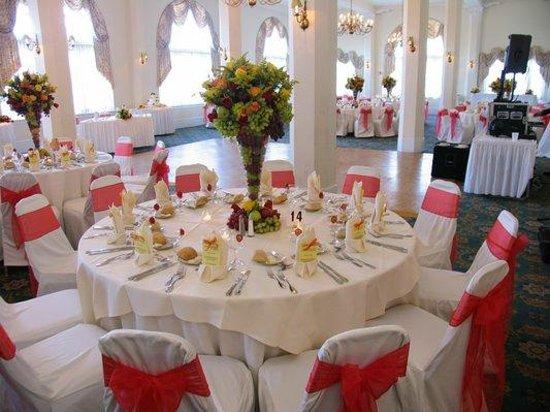 The Flanders Hotel: elegant ballrooms