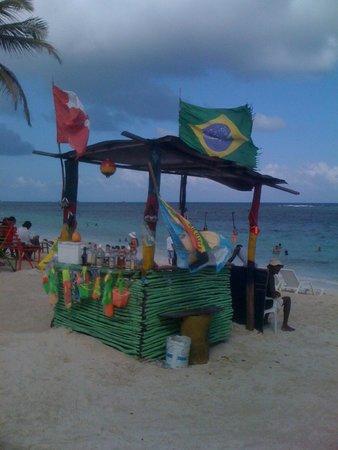 El Viajero San Andres Hostel & Suites : Playa de San Andres