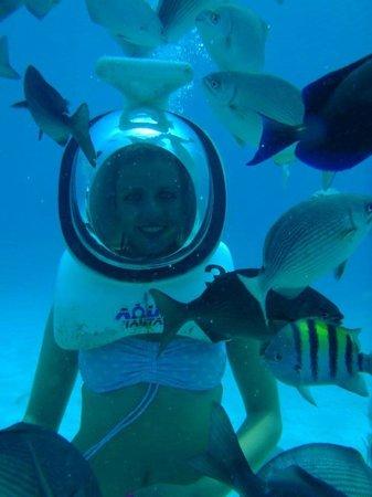 El Viajero San Andres Hostel & Suites: Buceo con Escafandra