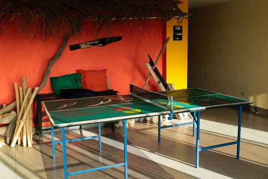 El Viajero San Andres Hostel & Suites: Ping - Pong