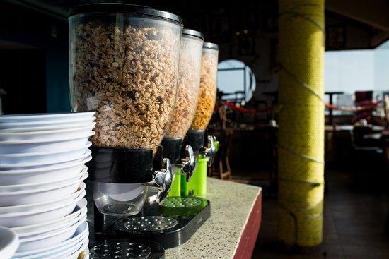 El Viajero San Andres Hostel & Suites: Desayuno GRATIS
