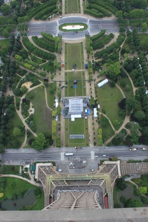 Tour Eiffel : View from the top