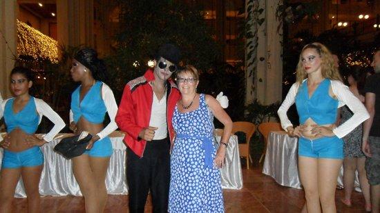 Blau Varadero Hotel Cuba: Michael Jackson take off