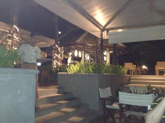 Centara Villas Samui: Abendessen