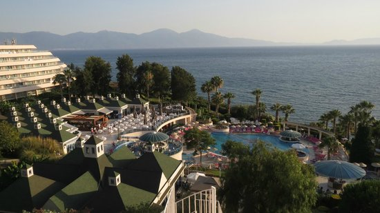 Grand Blue Sky International: View from the hotel top