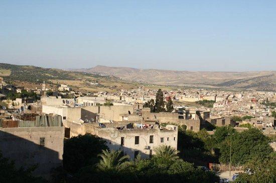 Ryad Mabrouka : Aussicht von der Terrasse