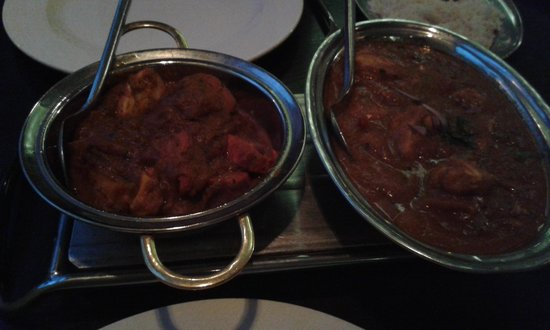 The Viceroy Indian: Chicken Bombay and Balti
