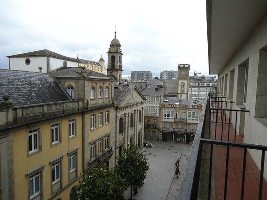 Hotel Mendez Nunez: desde el balcón